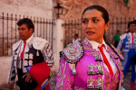 Lupita Lopez, bullfighter.