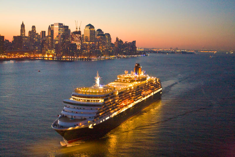 queen victoria the only aerials of cunard 39 s newest ny debut