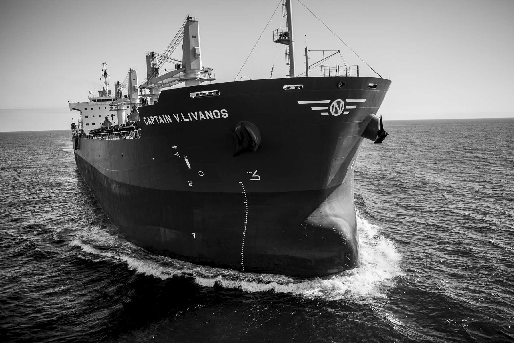 m/v Captain V. Livanos arrives maiden voyage Los Angeles
