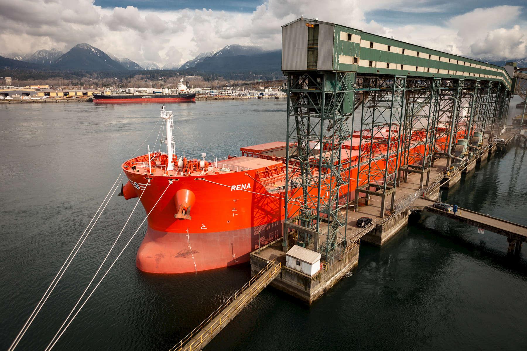 m/v Rena, port of Vancouver
