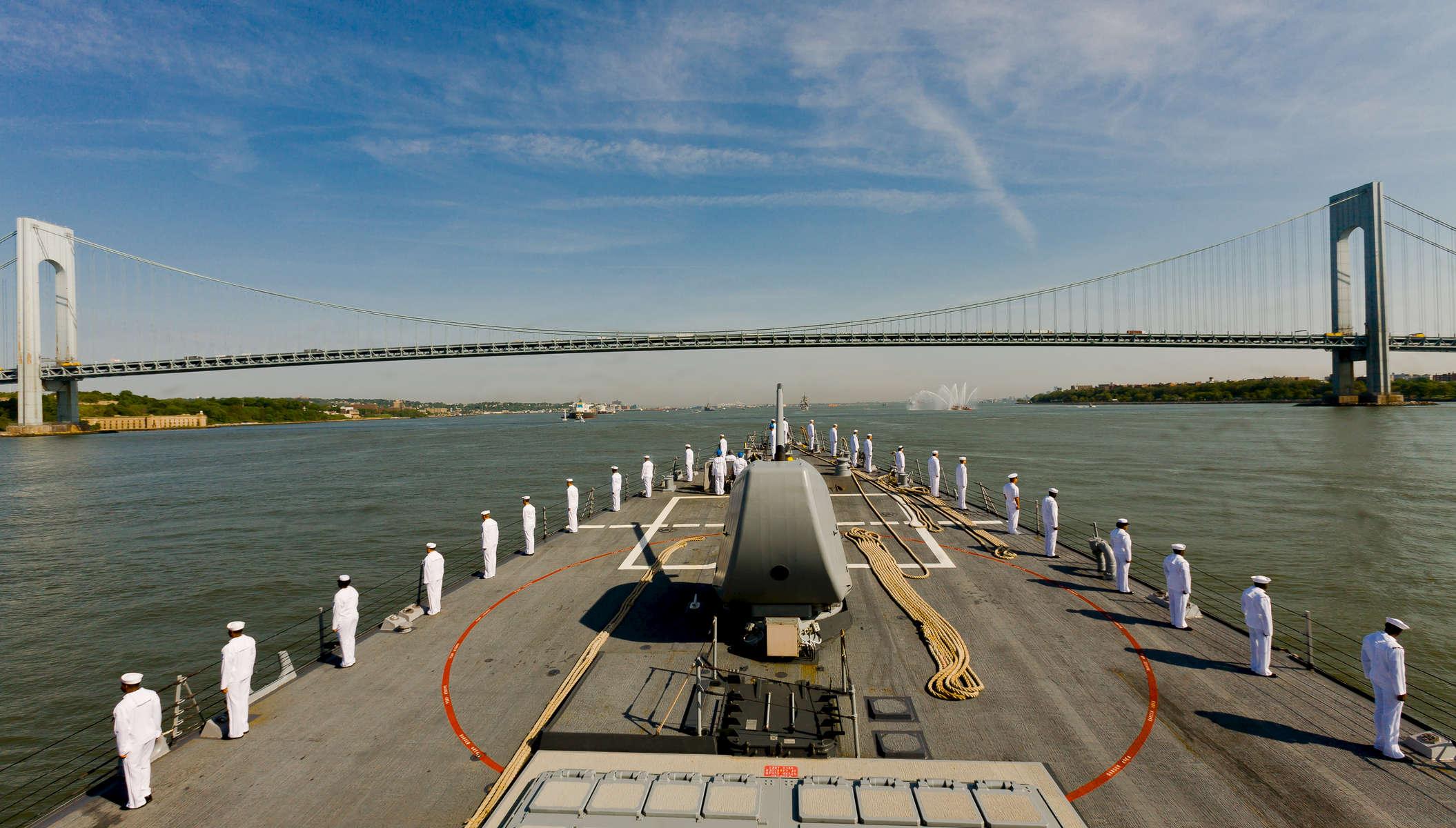 Fleet Week aboard USN Destroyer Oscar Austin, May 23, 2007