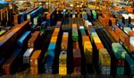 NY Harbor, Maher terminal, NY/NJ Port, containers, container ship, Seine, CMA-CGM, shipping,