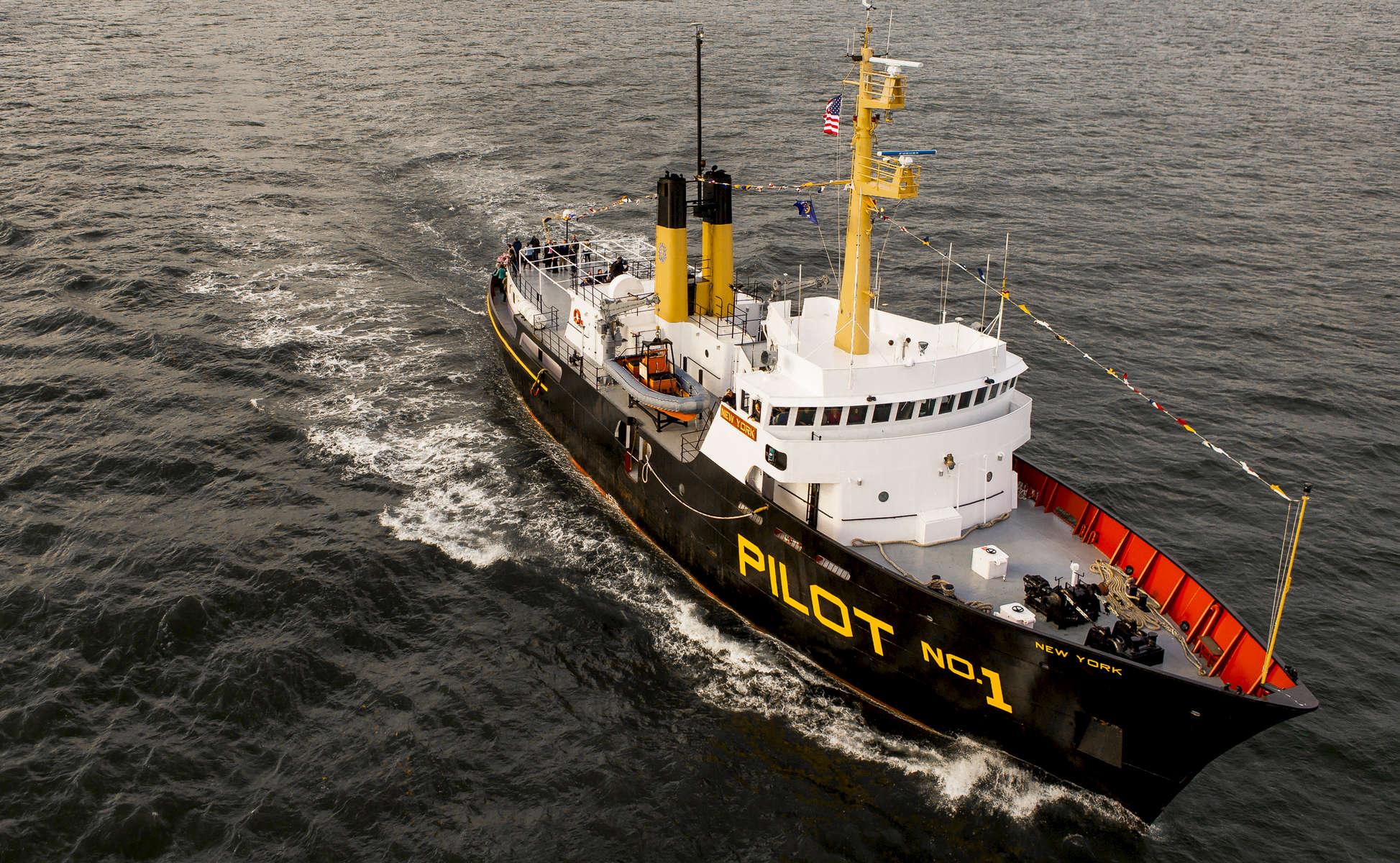 USS NEW YORK ARRIVES NYC