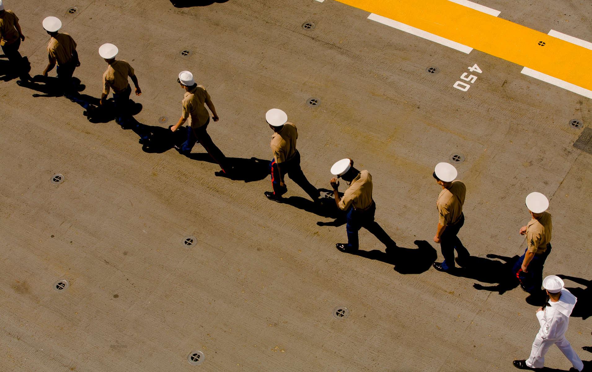 Fleetweek In NYC-USS Kearsarge