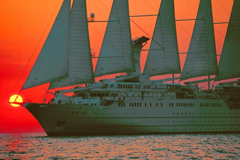 Wind Surf Small Cruise Ships Cruise Ships Maritime