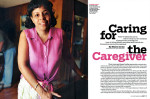 Portrait series on care givers, 2007.