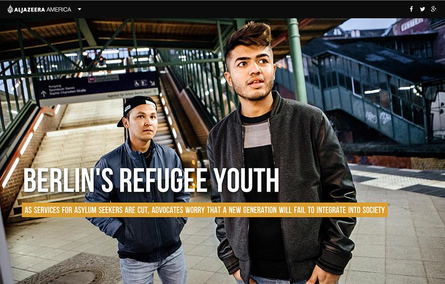 Berlin Refugee Youths, 2015.