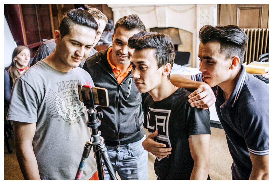 Newsgroup Afghanistan #Bleibistan Workshops und Ausstellungs-Launch. Juli - September 2017.Alle Fotos © Newsgroup Afghanistan