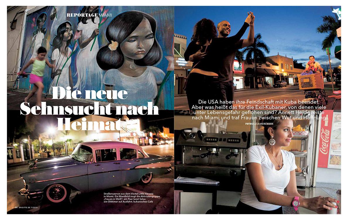 Cuban exiles in Miami, 2015.