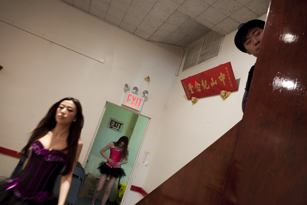 Miss Angel Model Contest at the Chinese Consolidated Benevolent Association.