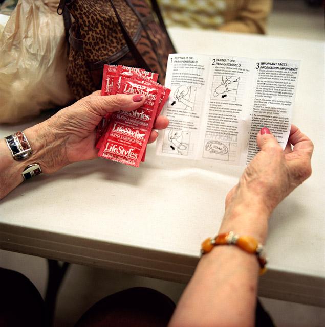 Safer sex education for seniors.