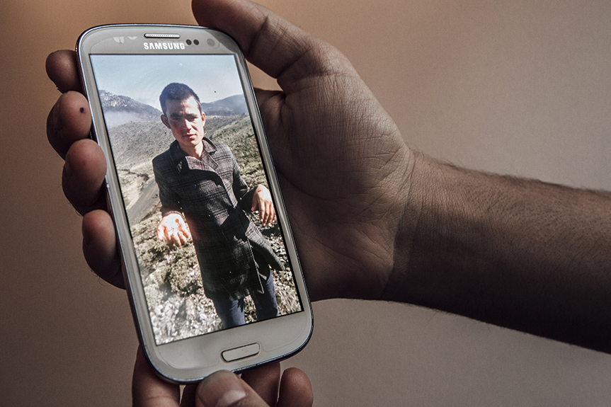 "A 2012 cell phone photo shows Abdul in Afghanistan, beaten and wounded by the Taliban after he refused to work with them; it is part of a collection of documents and images he hopes to present in his eventual asylum hearing. The exact process of next steps remains vague to him – navigating an unfamiliar, complex legal system, across language barriers,leaves him worried. Every step is fraught with anxiety and fear that a mistake might result in being sent back to a war zone.Abdul had to initially flee his native Herat Province in 2010, seeking shelter in a different province after his father was killed by a bomb as he was leaving mosque after Friday prayers. To this day, Abdul is unsure whether local government power brokers or the Taliban murdered his father. ""They destroyed my house, cut down the garden,"" he recalls. ""They burned my brother's hand. I can't go back. They'll kill me."""