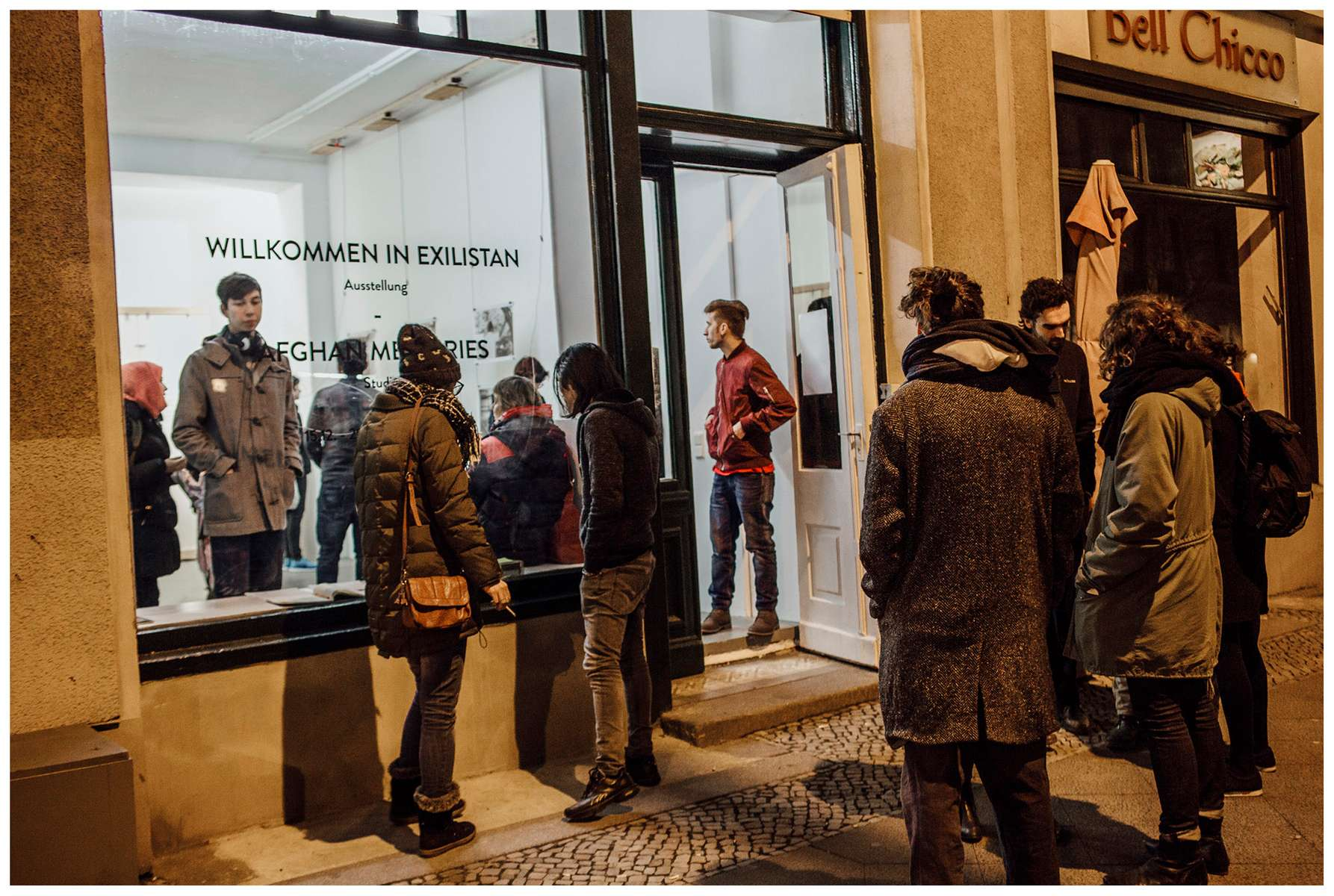 Pop-up exhibition & oral history project.Berlin, December 2016