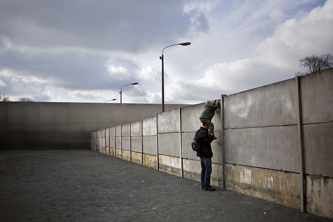 Bernauer Strasse Wall Memorial