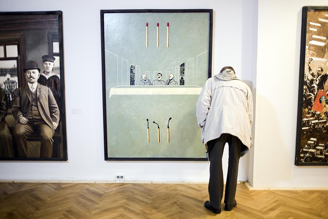 Volkseigentum Kunst: GDR state sponsored art
