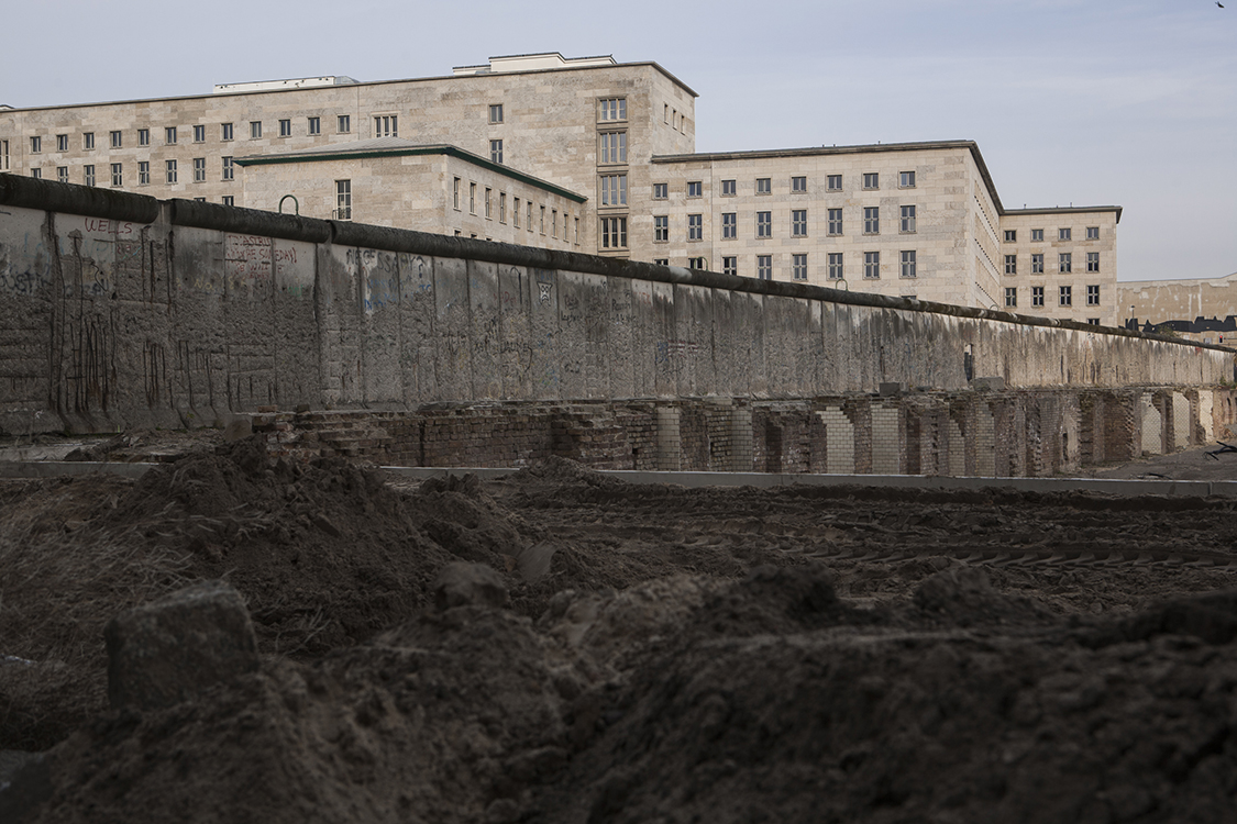 Berlin Wall and Topography of Terror site