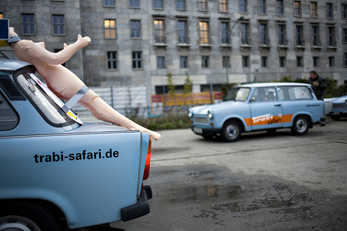 Bachelor party, Trabi Safari