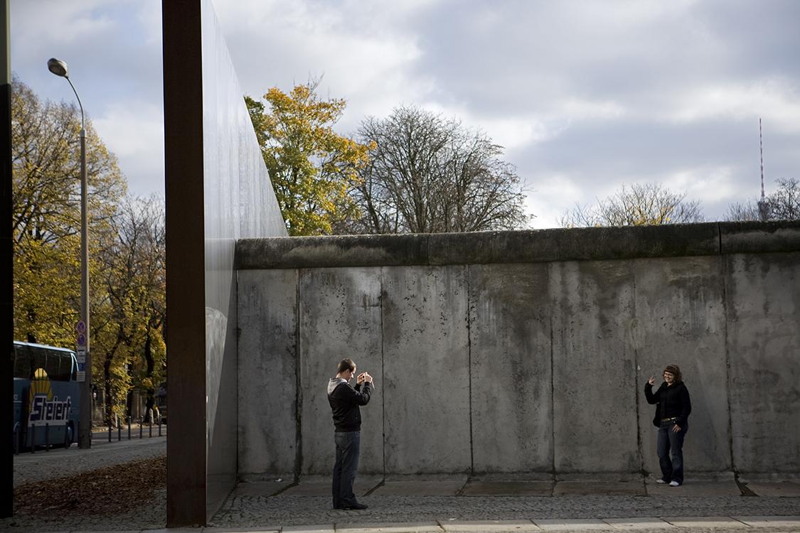 Bernauer Strasse Wall Memorial
