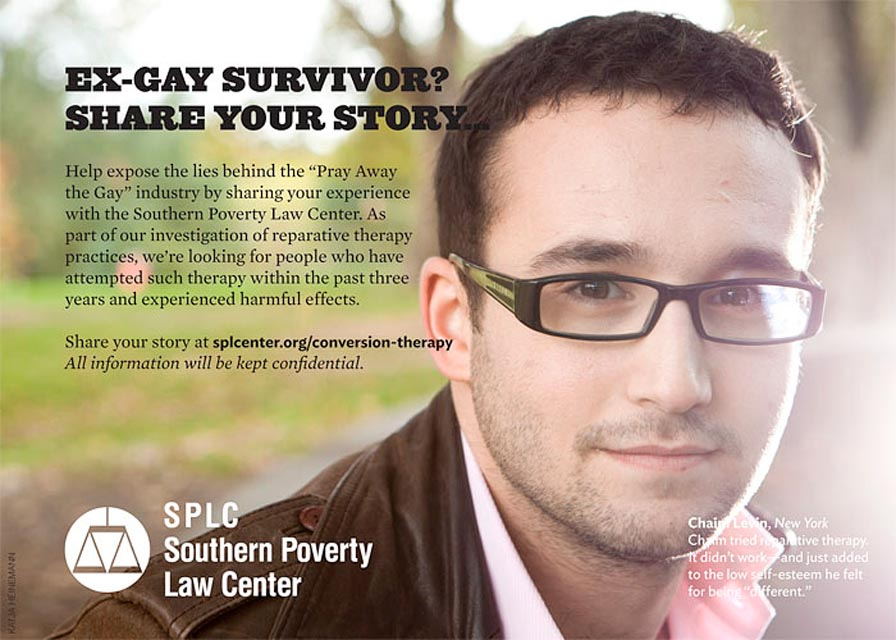 Campaign against anti-gay conversion therapy, 2012.