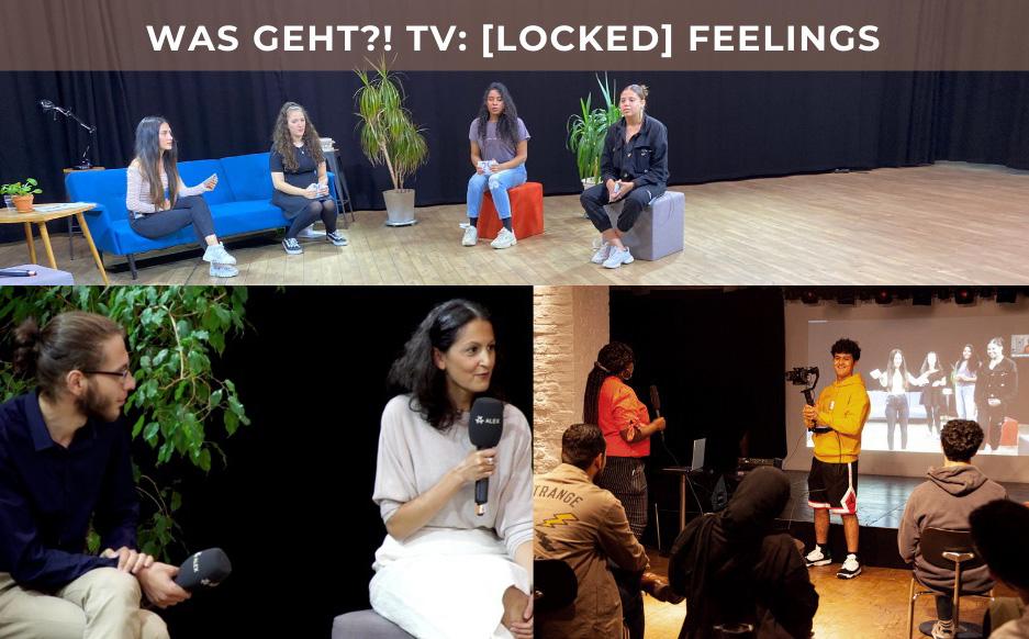 [Locked] Feelings TV pilot on Mental Health(trailer) WAS GEHT?! and ALEX Berlin Community TV, Fall 2020.