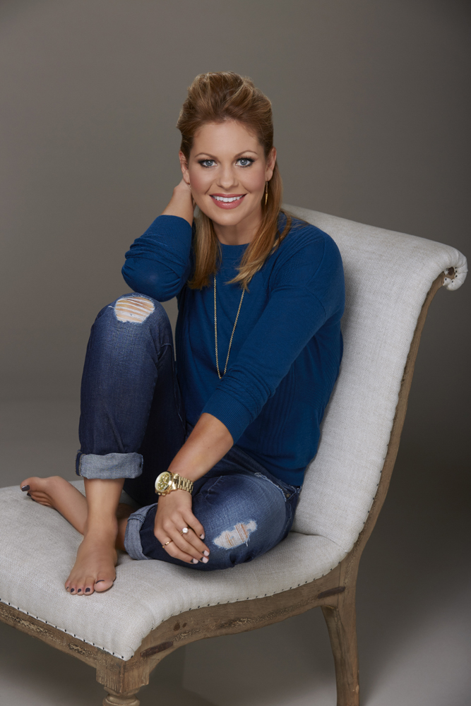 THE VIEW - Candace Cameron Bure is a co-host on ABC's {quote}The View.{quote}   {quote}The View{quote} airs Monday-Friday (11:00 am-12:00 pm, ET) on the ABC Television Network.    (ABC/Heidi Gutman) CANDACE CAMERON BURE