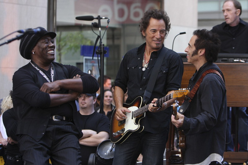 Bruce Sprinstreet and the E Street Band on the {quote}Today{quote} show,NBC News