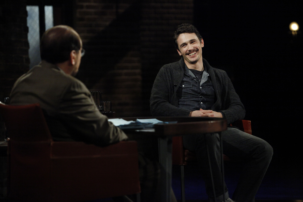 James Franco on {quote}Inside the Actor's Studio{quote}Bravo Television