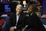 Anderson Cooper and Nini Leakes{quote}Watch What Happens Live{quote}Bravo Television