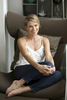 GOOD MORNING AMERICA - Amy Robach pictured at her New York City home, 7/21/14.   (ABC/Heidi Gutman)