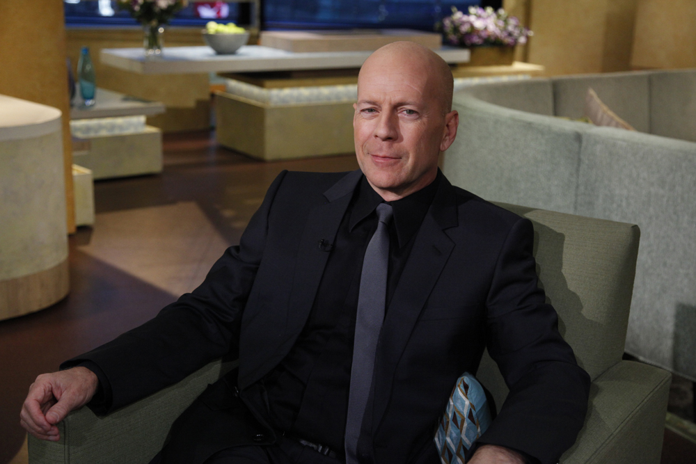 Bruce Willis on {quote}Good Morning America{quote}ABC News