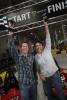 Nascar driver Trevor Bayne and Robin RobertsABC News/GMA