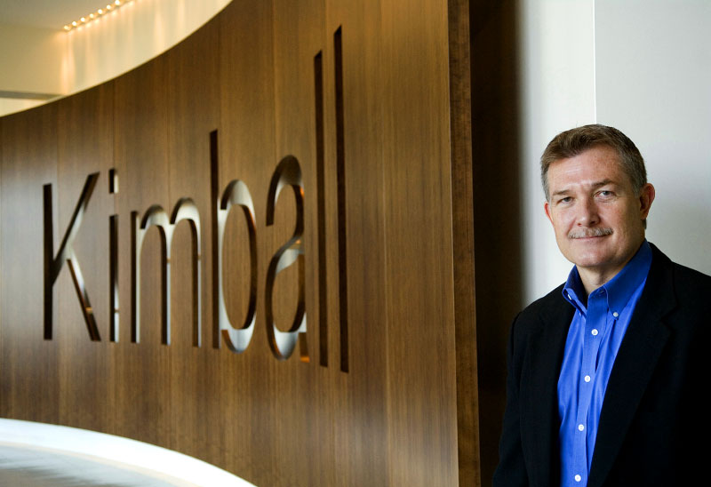 Stan Sapp is the Vice President and General Manager of Kimball Hospitality, a brand of Kimball International.