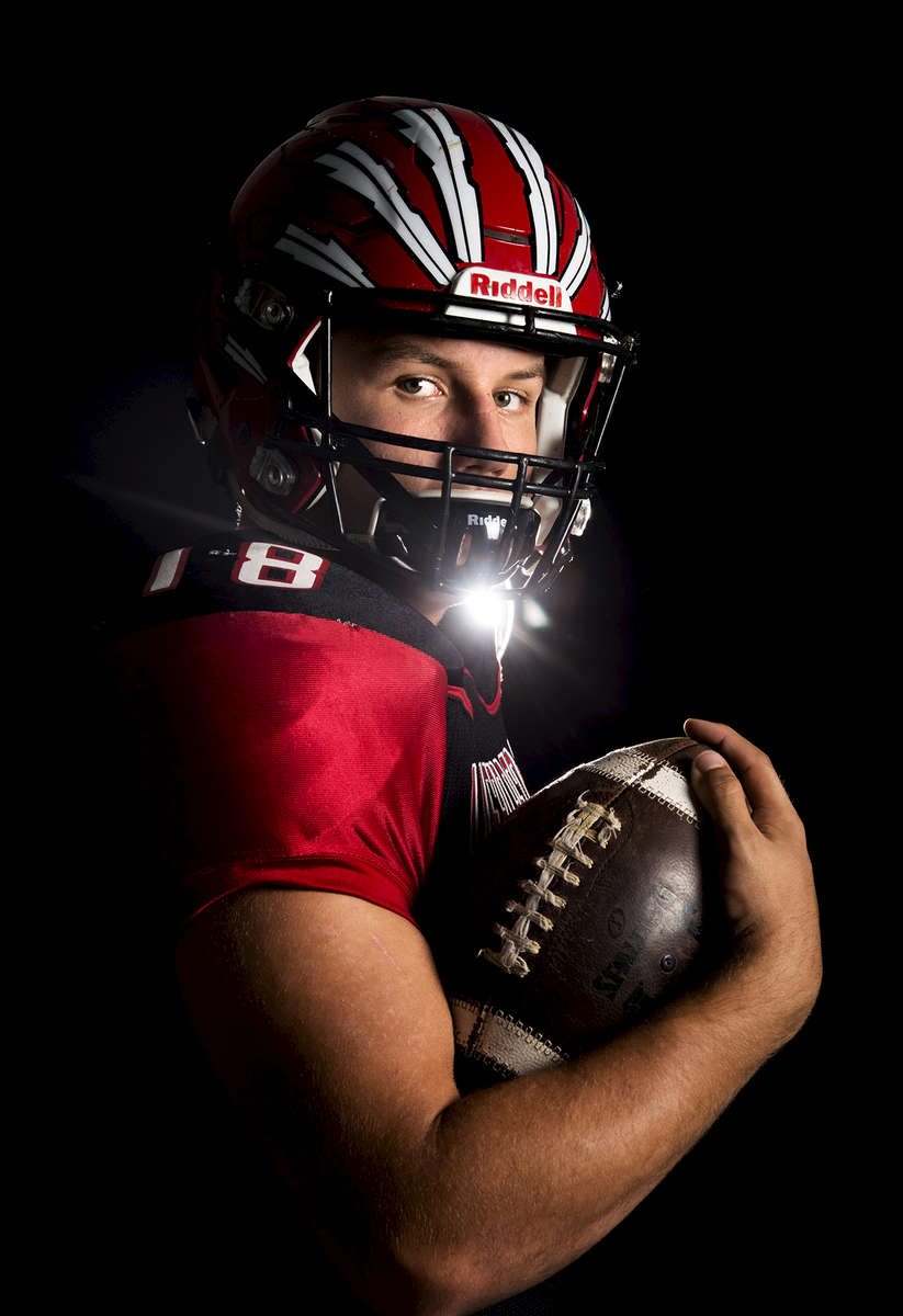 Patrick Moody of Vero Beach High School, all-area boys football finalist