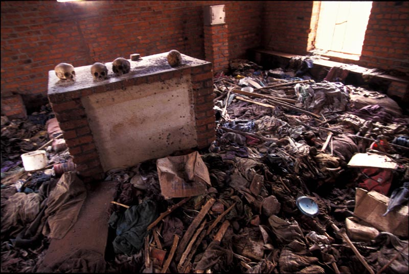 Massacre at a church. Rwanda, June 1994
