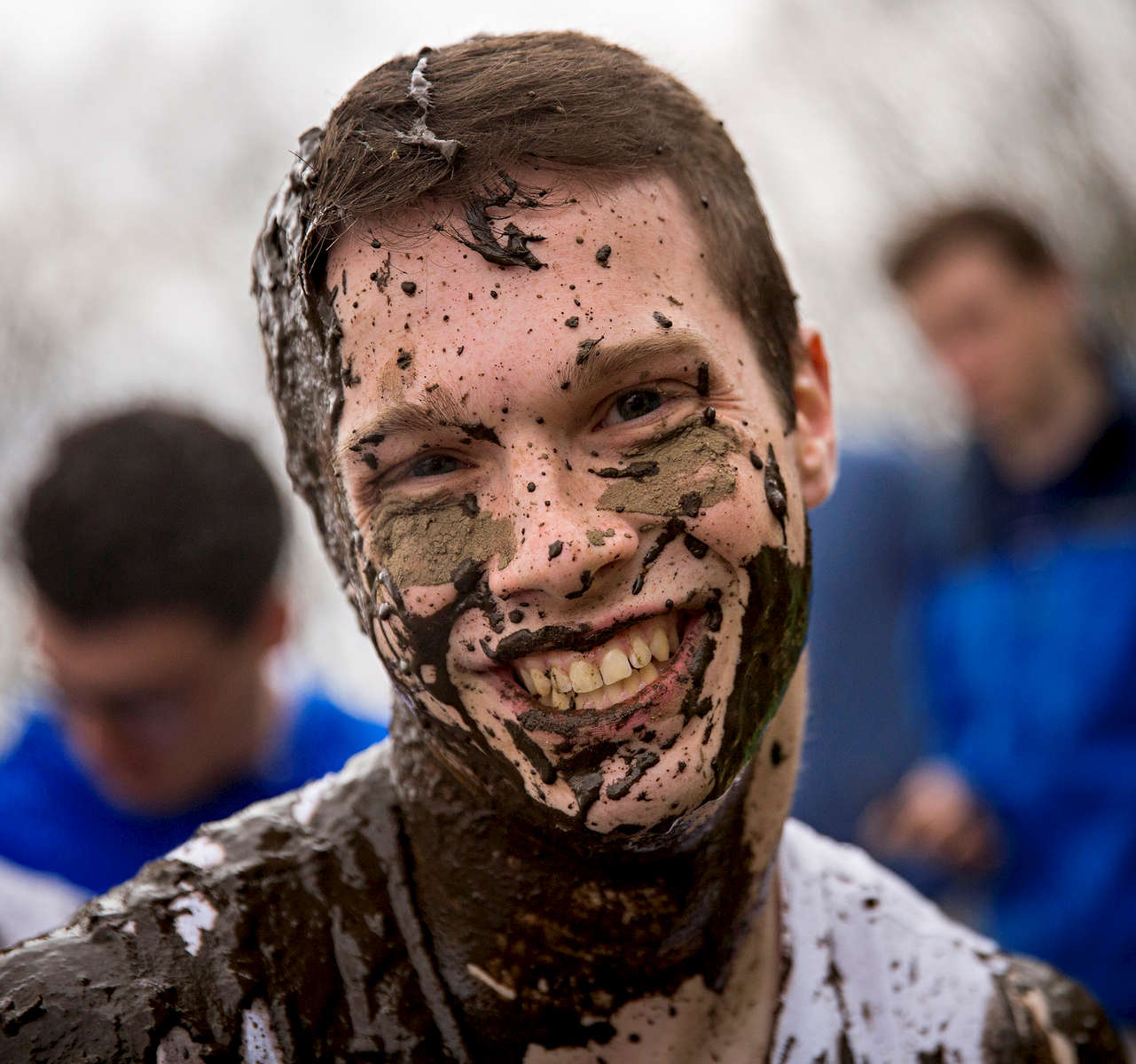 Students take part in the annual OOZeball tournament Saturday, April 22, 2017 in Storrs.