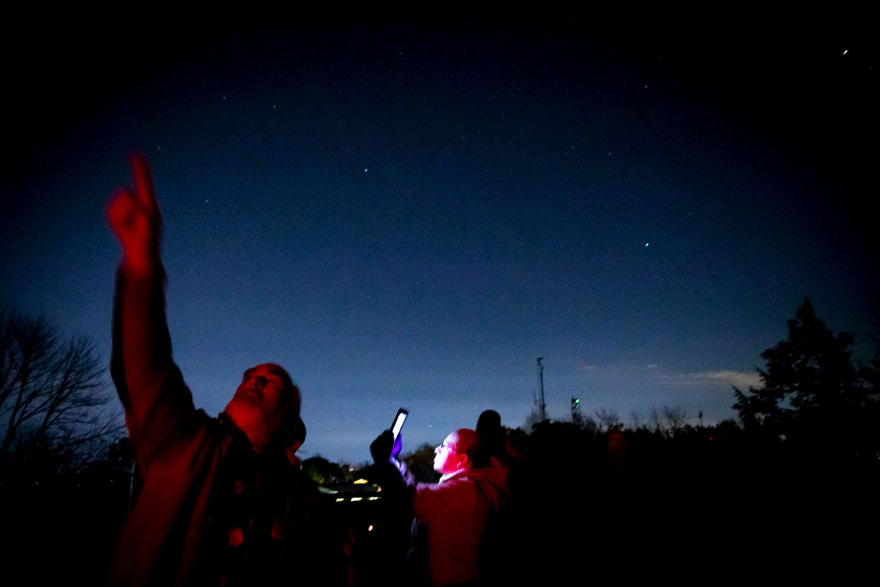 Alumni take part in the Science Salon Series Spacing Out: Ancient Stargazers to Modern Astrophysicists event at Talcott Mountain Science Center Thursday, November 9, 2018 in Avon.