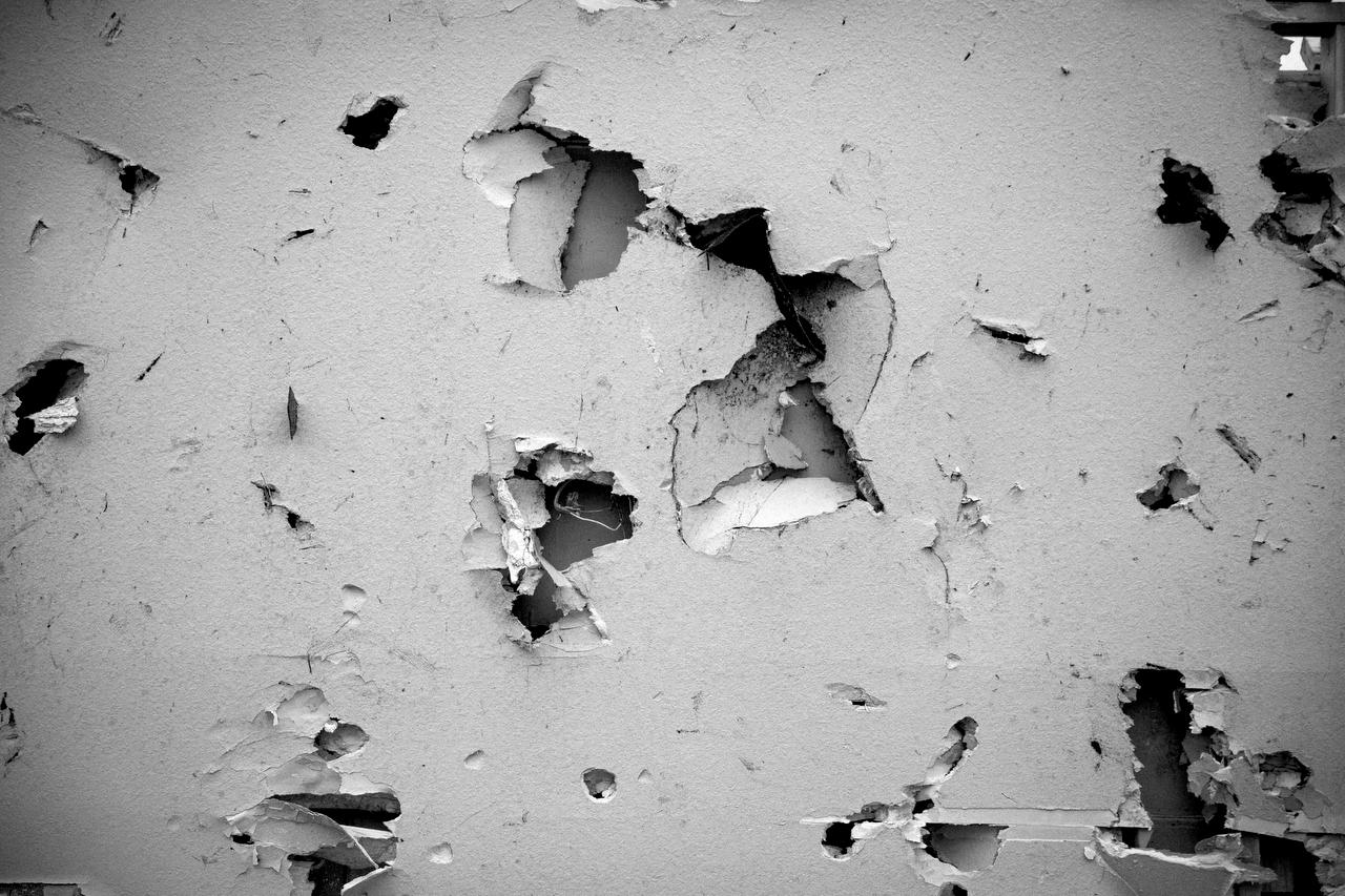 Drywall impact, Garland