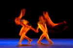 Members of the Alonzo King LINES Ballet troupe perform at the Winspear Opera House in Dallas.