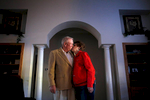 Lucien Hines (left) and his wife, Wanda Hines, began their six decade marriage by eloping as teenagers in north Texas. They now have three children, three grandchildren and four great grandchildren.