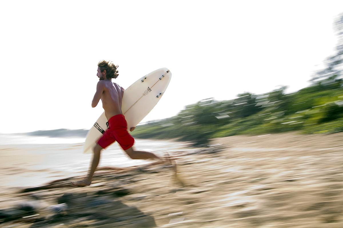 Surfer, Arecibo, Puerto Rico