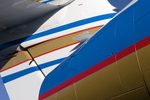 Aerials and aircraft detail for Caribbean Heli Jet website illustration.