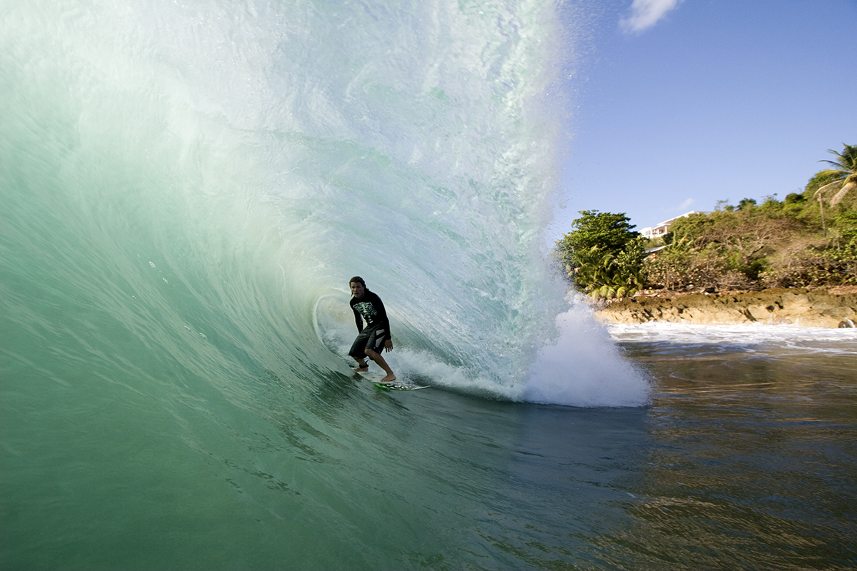 Aron Gieger, Aguadilla, Puerto Rico