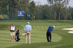First round action at the Turning Stone Resort Championship, a PGA event hosted by the Oneida Indian Nation and held at their Atunyote Golf Club in Verona, NY.