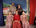 "Radika Mainali with her son, her daughter in law and her two grand daughters.The Mainali have been living as refugees for the past 18 years.Back row from left: Rabi Lal Mainali, 37, his wife Hema Devi, 36. Front row from left: Bidhya, 10, Radika (Rabi s mother), 76, and Rabina, 12.In Few days the Mainali will be travelling to Dallas in Texas: a third country for a new home.Traditional dress gives a sense of Identity and belonging to a community. After being a refugee for more than 18 years, Rabi, Hema and Radika still feel Bhutanese when they are wearing the ""Go"" (for men) and the ""Kira"" (for women). Rabina and Bidhya were born in Nepal and deeply identify themselves as Nepali."