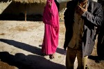 Member of the Gulabi gang in her village.