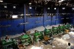 20.07.06. Cotton factory, Gore kunta, Warangal. Here, the cotton is separated from the seeds. The workers are paid 6 rupees an hour ( 0,10). 