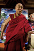 His Holiness, the fourtheen Dalai Lama, Tenzin Gyatso, New Delhi, India, 2008.
