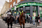 Police Horses on Mare Street