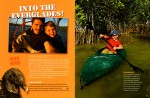 --  Tim and his son Russell went kayacking through the everglades.  Photographs are by both Tim and Russell and the story is told though Russell's point of view.