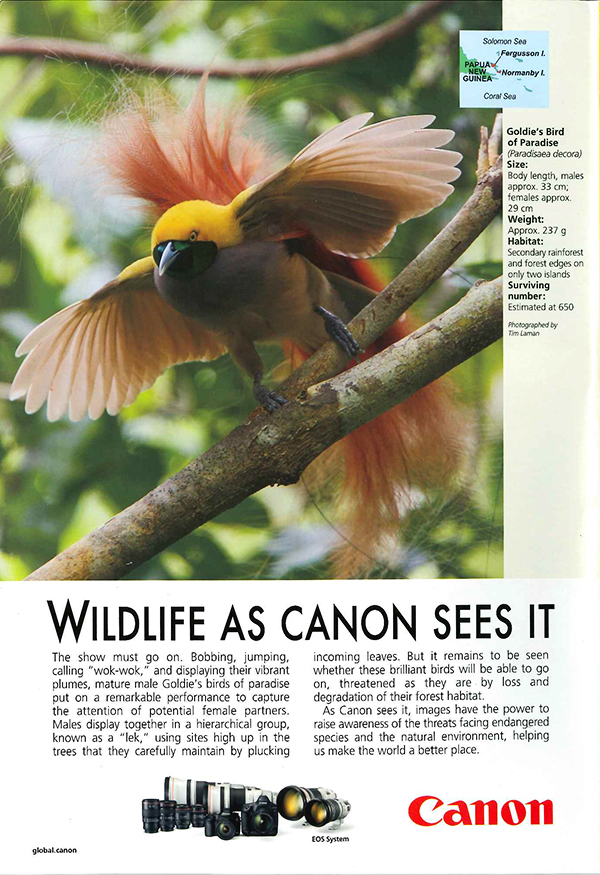 Canon Ad in National Geographic-Sep 17